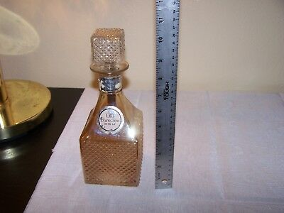 Vintage Old Forester Whiskey Decanter
