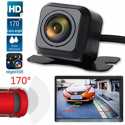170° Car Rear View Backup Camera Parking Reverse Backup Camera Waterproof CMOS