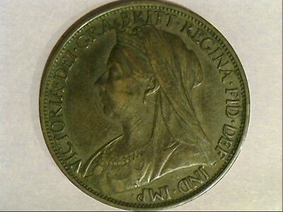 1900 United Kingdom Queen Victoria One Penny