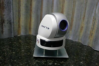 Elmo PTC-110R PTZ Pan Tilt Zoom CCTV Video Conference Camera Tested FREE S&H