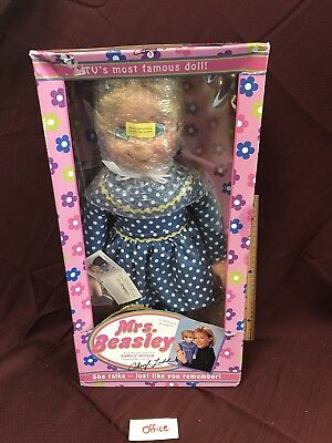 2010 Mrs Beasley Collectible Doll TV Family Affair New In Box