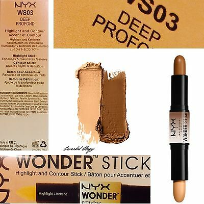 NYX Wonder Stick Dual Ended Highlighting Contour 4g Each WS03 DEEP Free Post