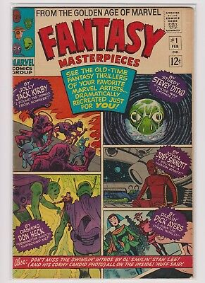 Fantasy Masterpieces 1-11 (Feb 1966-Aug 1967, Marvel) MISSING #11