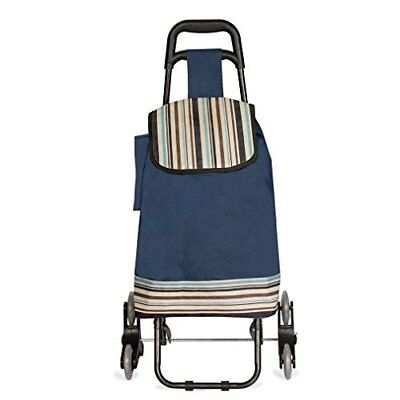 Stair Climbing Multipurpose Folding Utility Cart for Laundry - Grocery