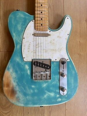 Telecaster Relic Con Pickup Fender Made In Usa