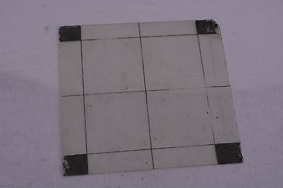 Glass Focussing Screen  4 1/4 X 3 3/4 Inches
