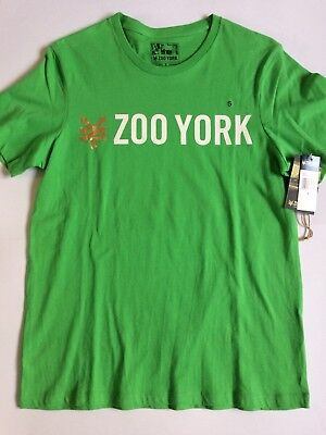 "Zoo York T Shirt ""STRAIGHT CORE"" in Grün Größe S Skateboard Skater"