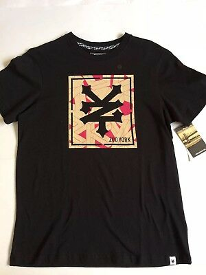 "Zoo York T Shirt ""LUCA CROWN"" in Schwarz Größe M Skateboard Skater"