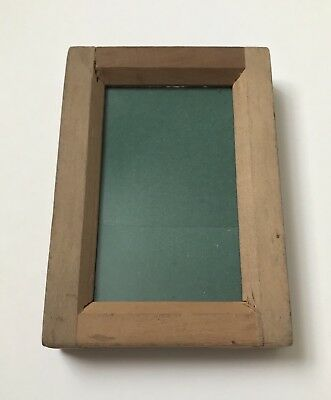 Vintage Wooden Primus Contact Negative Photo Frame British Made