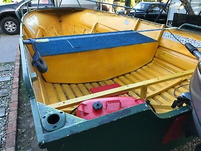 14Ft Qintrex Tinny loads of deck space TRAILER & MOTOR ARE NOT INCLUDED