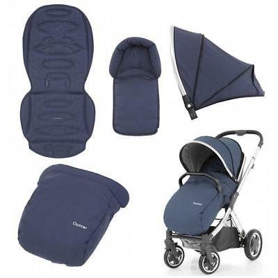 Oyster 2 / Oyster Max 2 Pushchair Buggy Main Seat Unit Colour Pack OXFORD BLUE
