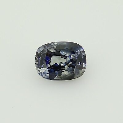 cushion cut untreated blue sapphire Sri Lanka 1.30ct Genuine Loose Gemstones
