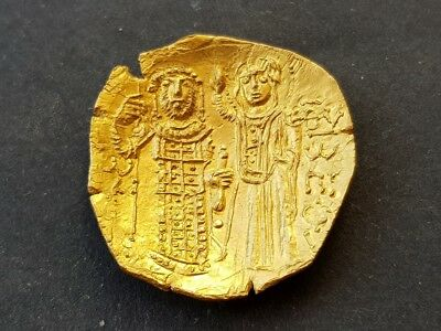4. Gold Solidus, Byzantine Gold Coin for Identification - 4,42g; 24mm