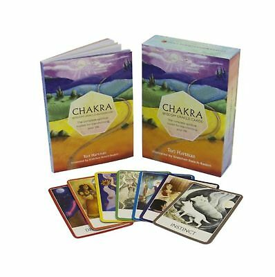 Chakra Wisdom Oracle Cards: The Complete Spiritual Toolkit for Transforming Y...