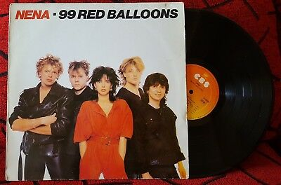 NENA 99 Red Balloons VERY RARE COVER Spain LP 1984