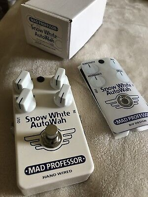 Mad Professor Snow White Auto Wah Handwired Neu