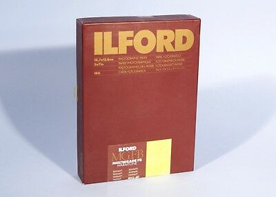 "Ilford 5x7"" MGFB Multigrade FB Warmtone Photographic Paper Semi-Matt 100 * Open"