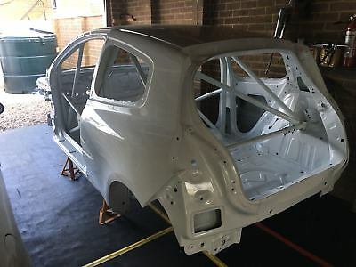 Genuine Renault Clio Cup X85 left hand drive shell with roll cage
