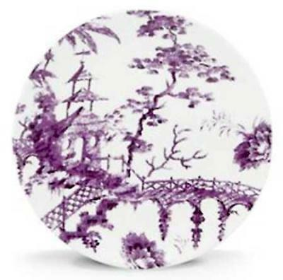 Set of 4 LENOX ~ Scalamandre Toile Tale 9  Accent Plates Amethyst Purple NIB  sc 1 st  PicClick & SET OF 4 LENOX ~ Scalamandre Toile Tale 9
