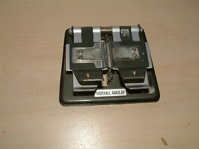 Southall-Barclay Super 8, 8mm and 16mm Film splicer