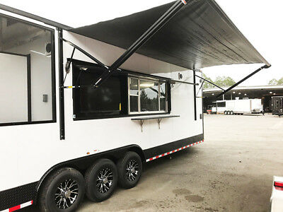 Food Truck Concession Catering Bbq Trailer  With Smoker, Bathroom, Turn Key