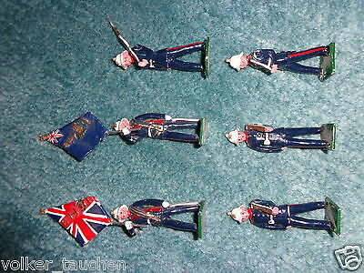 The Royal Marines British Army Metal Toy Soldier Figure Set