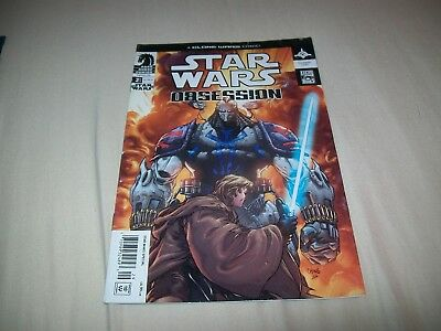 Star Wars Obsession 4 Rare Newsstand Variant Hard To Find Movie