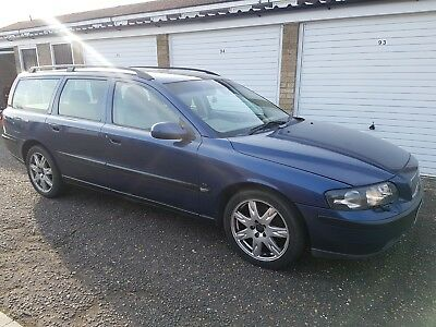 volvo v70 t5 2002 blue long mot