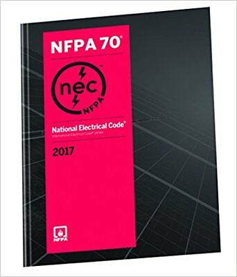 NFPA 70 National Electrical Code 2017 1st Ed BRAND NEW US EDITION PAPERBACK