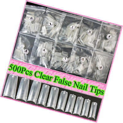 500 Capsules pour ongles Transparent ungfu Cool - Neuf