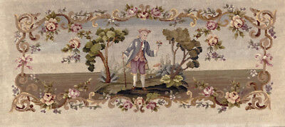 Antique  Petit Point  & Needle Point Tapastery