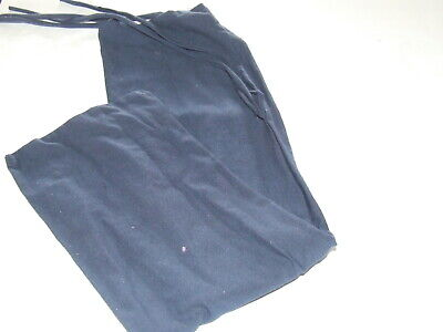Ecotak Lycra Rugless Tie in Tail Bag - Navy Cotton small pony Ecotak