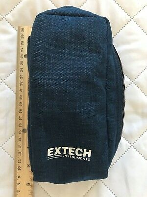 """Pre-owned Extech Carrying Case 8"""" by 4"""" Blue Cloth B6"""