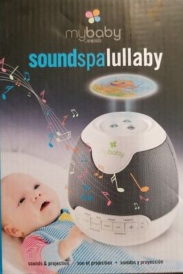 myBaby Soundspa Lullaby Sound Machine and Projector Auto-Off Timer