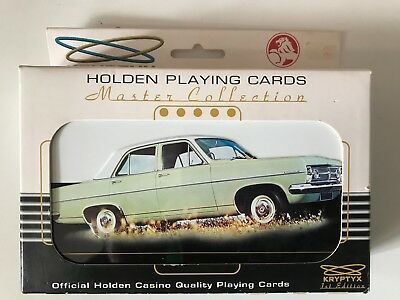 Holden Master Collection Playing Cards - 2 Packs - Unopened - Kryptyx