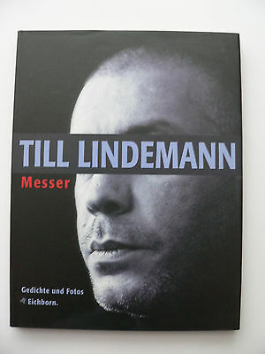 Till Lindemann - Messer - Poems and photos - Rammstein - Gedichte und Fotos -