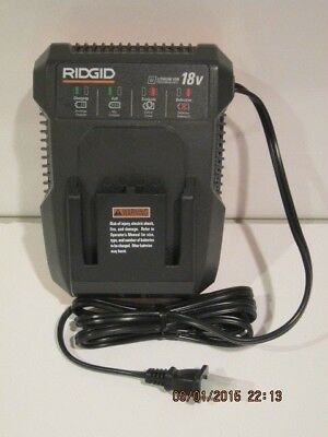 Ridgid R86092 18VOLT Lithium-Ion Battery CHARGER, NEW BULK-PACK, FREE PRI-SHIP!!
