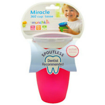 Munchkin Miracle 360 Sippy Cup Assorted NEW FREE POSTAGE CHOOSE YOUR COLOUR