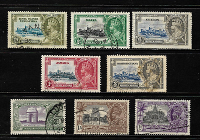 British Commonwealth..King George V Silver Jubilee Issues .. 009637