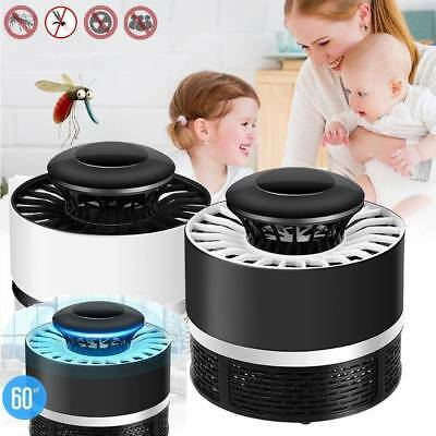 Electric Mosquito Killer Fly Pest Bug Insect Trap Zapper LED Night Lamp USB AU