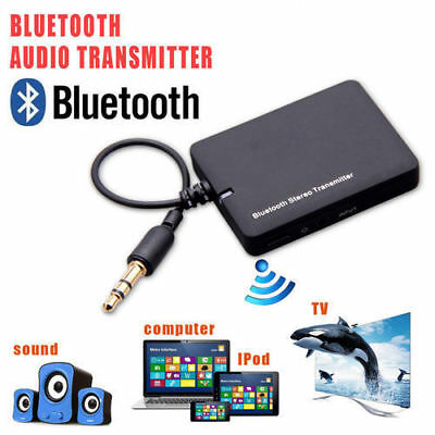 Wireless Bluetooth Audio Transmitter Receiver 3.5MM RCA Music 2 in1 HIFI Adapter