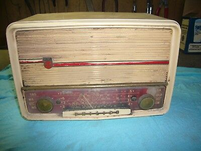 Vintage Old Philips Radio Collectable Model 167