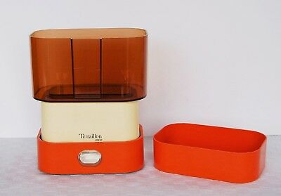 Terraillon 4000 Waage orange bis 4kg Design Klassiker France Küchenwaage