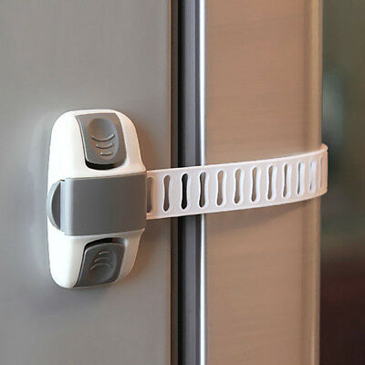 Adhesive Child Kids Baby Safety Lock For Door Drawers Cupboard Cabinet Fridge