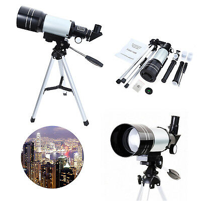 Astronomical F30070M Astronomic Reflector Telescope Space Tripod 150X Scope
