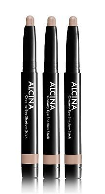 3x Alcina Creamy Eye Shadow Stick Taupe 010 Dekorative Kosmetik
