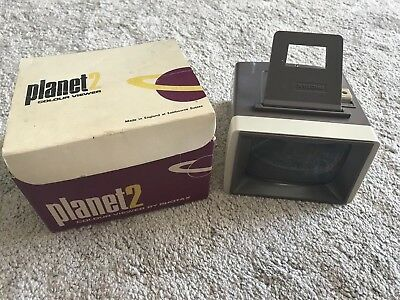 PLANET 2 COLOUR SLIDE VIEWER by PHOTAX