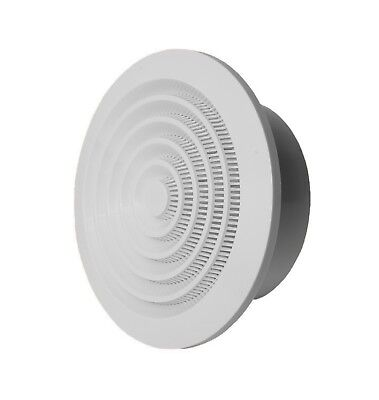Ceiling Round Air Vent Grille Exhaust / Supply Valve Diffuser Anemostat