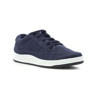 Red Fish Mens Navy Lace Up Canvas Shoe - Sizes 6,7,8,9,10,11,12
