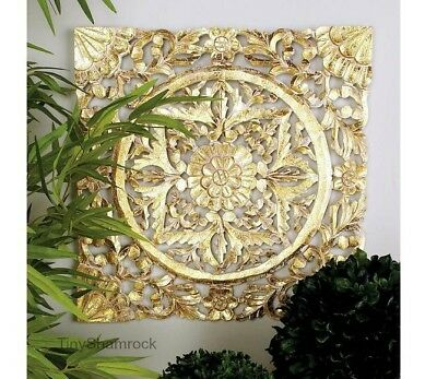 Famous Carved Wood Wall Art Decor Crest - Wall Art Collections ...